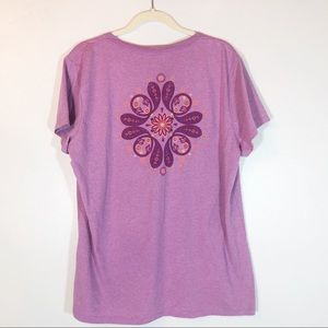 The north face lavender T-shirt